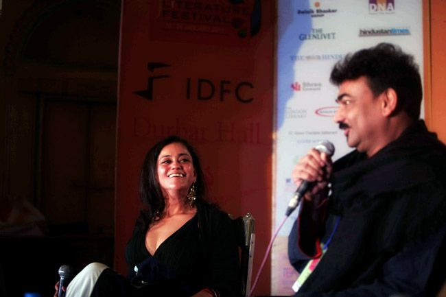 Kalli Purie and Wendell Rodricks
