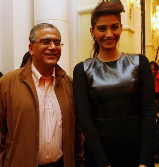 Aroon Purie and Sonam Kapoor