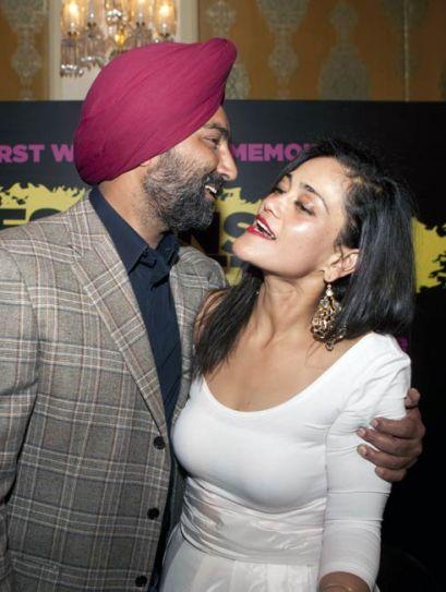 Malvinder Singh and Kalli Purie