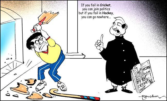 Indian hockey team's entry into the London Olympics