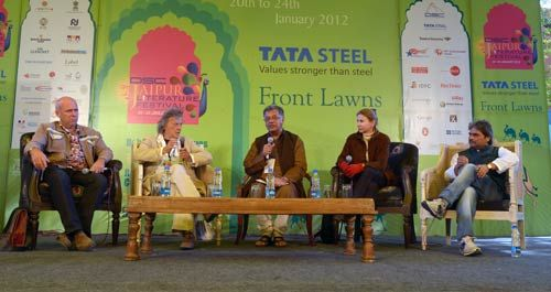 Richard Flanagan, Tom Stoppard, Girish Karnad, Lionel Shriver and Vishal Bhardwaj
