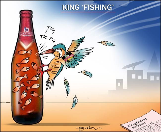 Kingfisher Airlines is battling hard to stay afloat