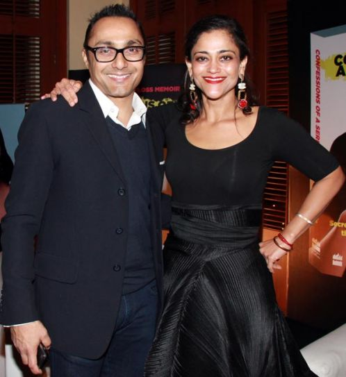 Rahul Bose and Kalli Purie