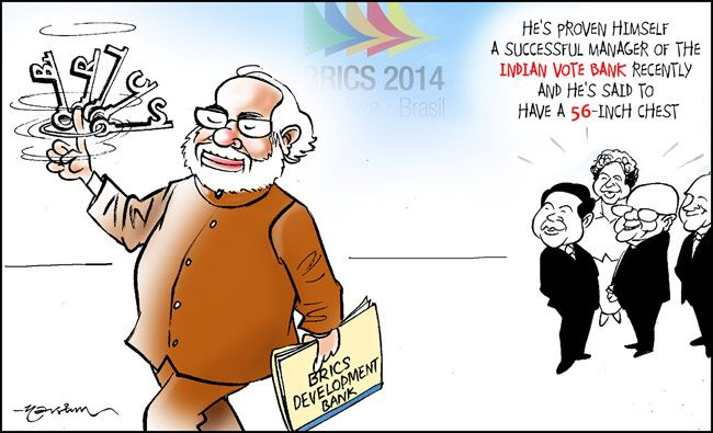 Narendra Modi at BRICS