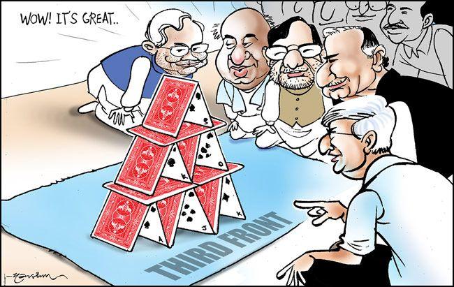 Third Front, 2014 Lok Sabha polls
