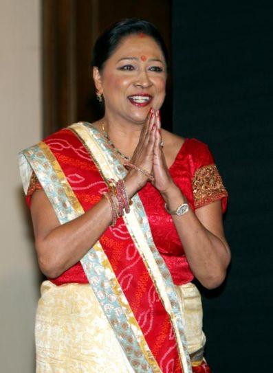 Trinidad and Tobago Prime Minister Kamla Persad-Bissessar
