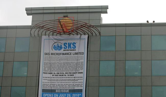 SKS Microfinance headquarters in Hyderabad