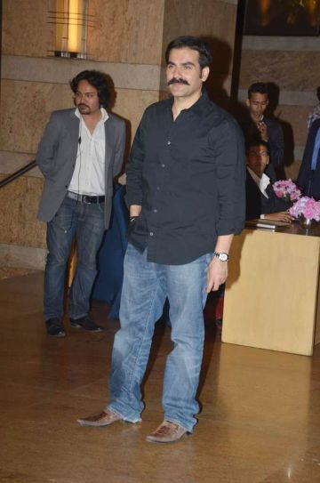 Arbaaz Khan Sajid Khan was also present.