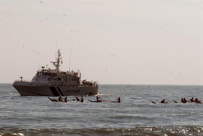 Boat race at Marina beach
