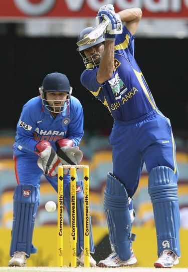 Tillakaratne Dilshan and Parthiv Patel