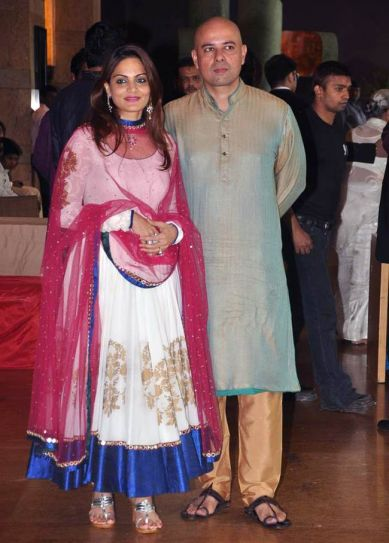 Alvira Khan and Atul Agnihotri