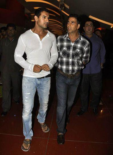 John Abraham and Akshay Kumar