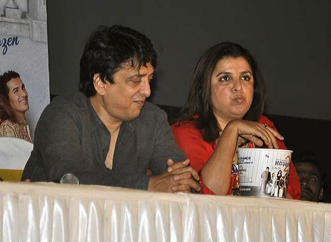 Sajid Nadiawala and Farah Khan