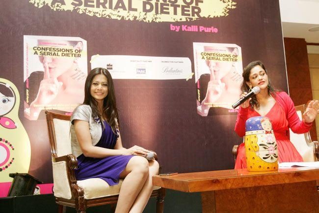 Kalli Purie with Actor Koel Mallick