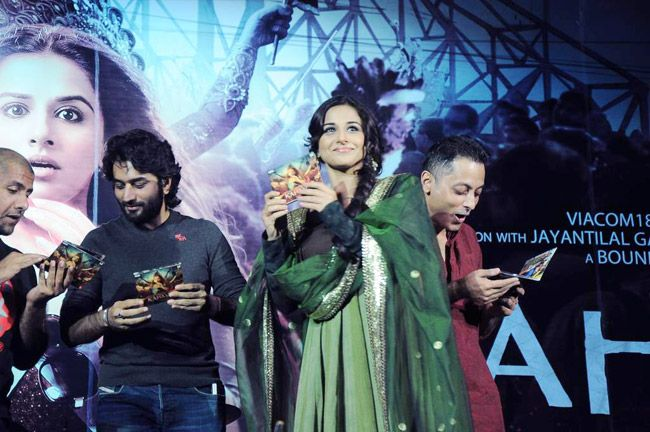 Vidya Balan, Sujoy Ghosh, Vishal and Shekhar