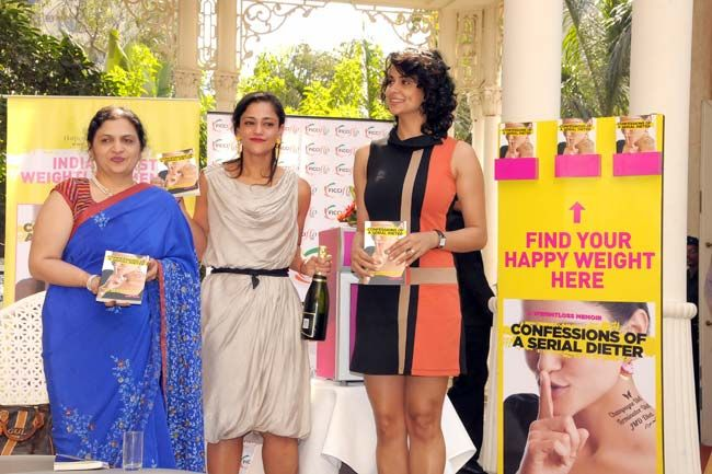 Sucheta Shah, Kalli Purie and Gul Panag