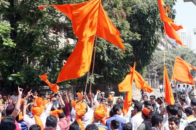 Shiv Sena celebrations
