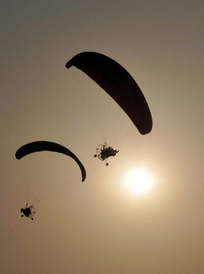Paragliding in Bhopal