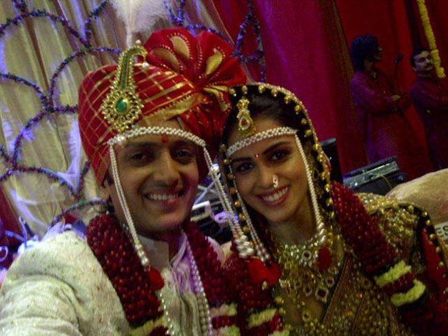 Genelia Riteish Wedding Pics Indiatoday