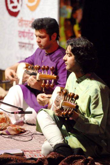 Sarod maestros Aman and Ayaan Ali Khan