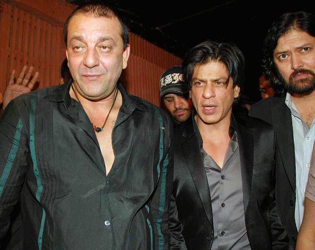 Sanjay Dutta and SRK