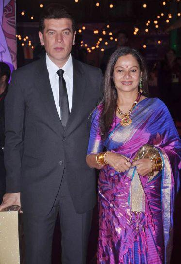 Aditya Pancholi and Neelima Azeem