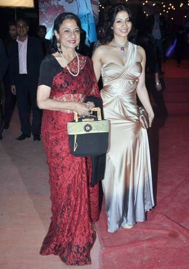 Tanuja and Tanisha Mukherjee