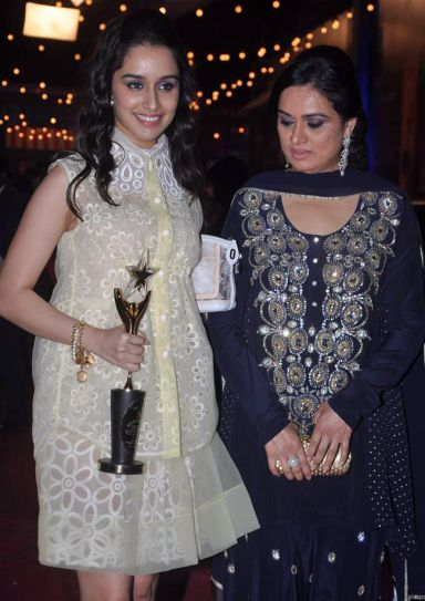 Shraddha Kapoor and Padmini Kolhapure