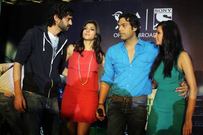 Gaurav Kapur (from left), Archana Vijaya, Samir Kochhar and Shibani Dandekar