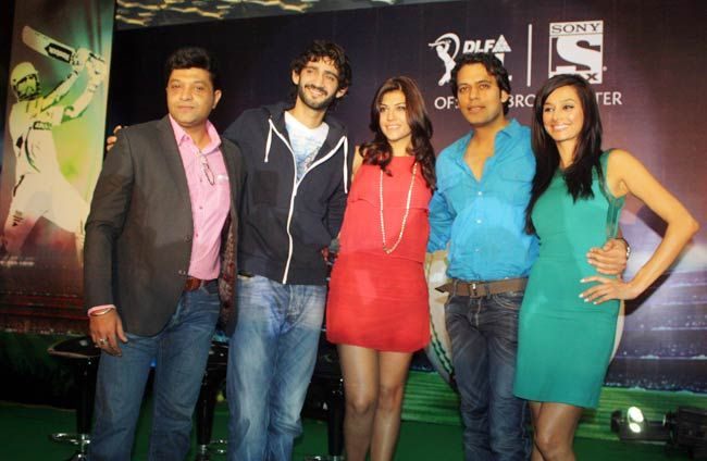 Gaurav Kapur (from second left), Archana Vijaya, Samir Kochhar and Shibani Dandekar