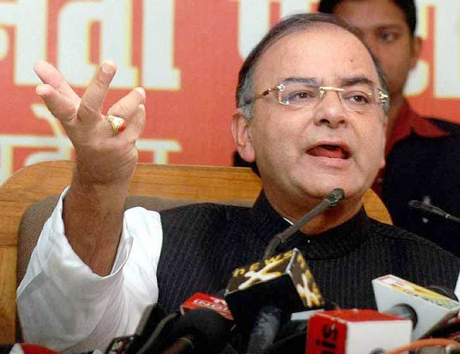 Leader of Opposition Arun Jaitley
