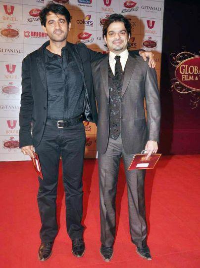 Hiten Tejwani and Karan Patel