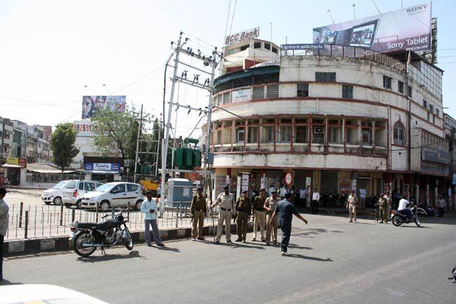 Bandh in Bhopal