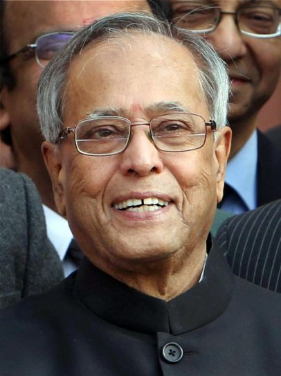 Finance Minister Pranab Mukherjee