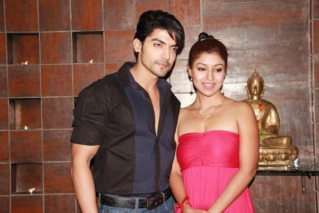 Gurmeet Chaudhary and Debina Bannerjee