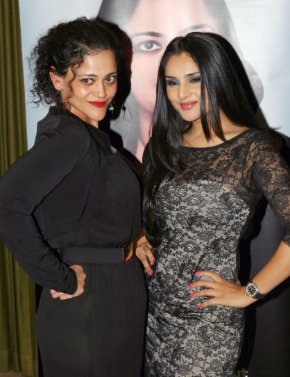 Kalli Purie with Ramya