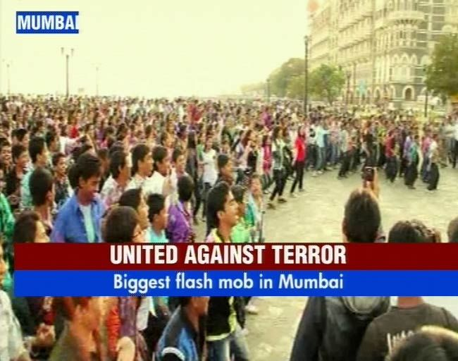 Flash mob in Mumbai
