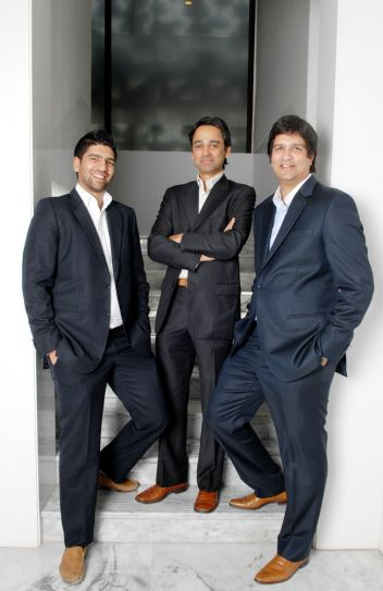Harsh, Nandan and Rajeev