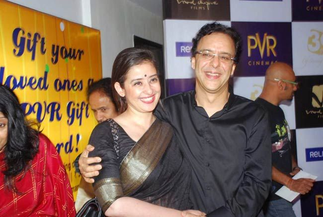 Vidhu Vinod Chopra and Manisha Koirala