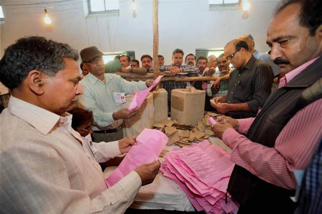 Counting of votes for UP polls