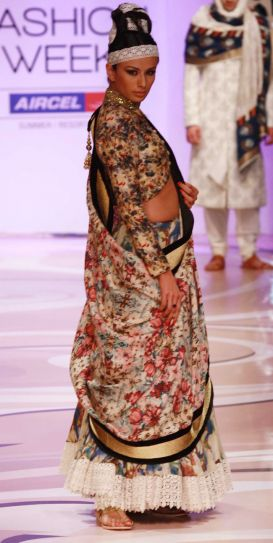 Day 1 of the Lakme Fashion Week Summer/Resort 2012 show.