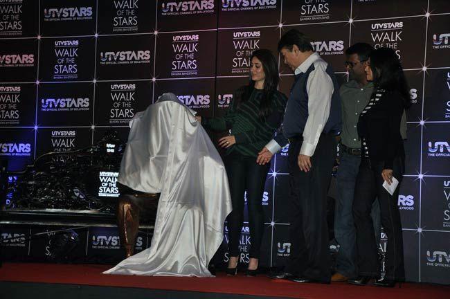 Kareena Kapoor and Randhir Kapoor