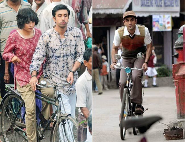 A still from the film Barfi