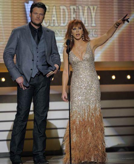 Blake Shelton and Reba McEntire