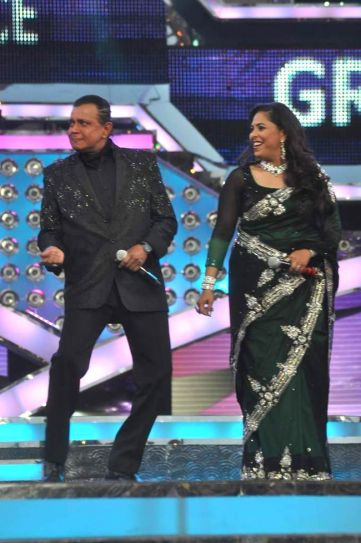 Mithun da and Geeta Kapoor