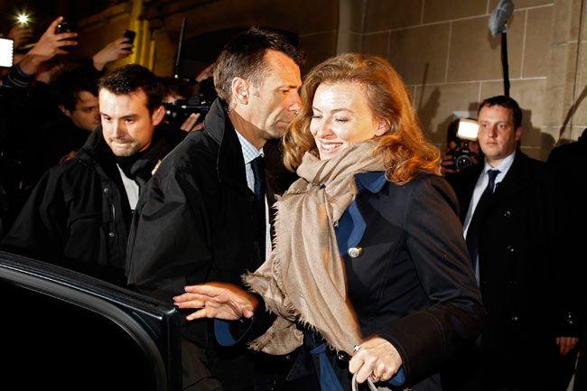 Valerie Trierweiler, Hollande's companion