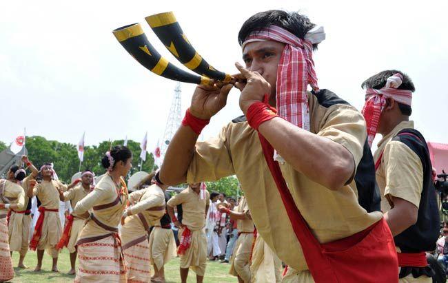 Rongali Bihu in Guwahati
