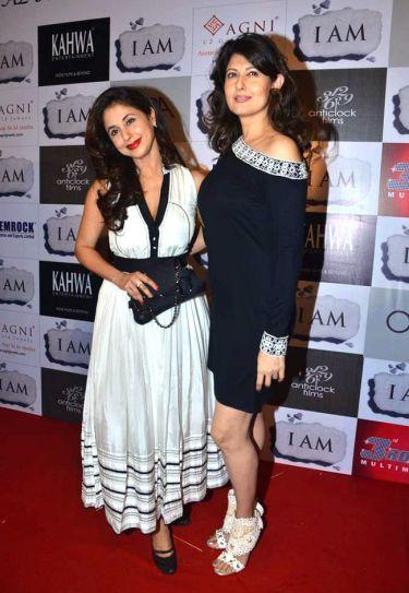 Urmila Matondar and Sangeeta Bijlani