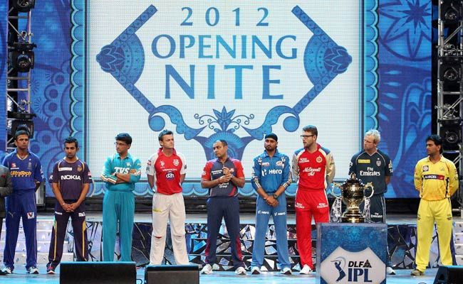 Nine captains of IPL playing teams