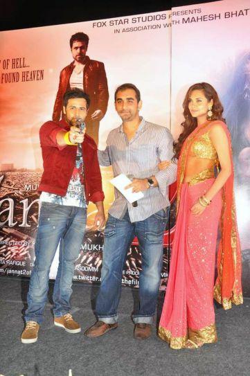 Emraan Hashmi, Esha Gupta and Kunal Deshmukh